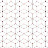 Abstract Hexagon Patroon Royalty-vrije Stock Afbeelding