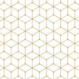 Abstract Hexagon Patroon Stock Afbeelding
