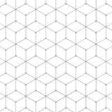 Abstract Hexagon Patroon royalty-vrije illustratie