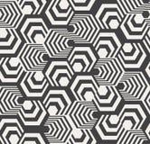 Abstract Hexagon Patroon Royalty-vrije Stock Fotografie