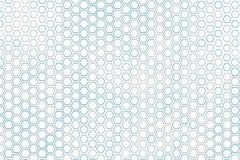 Abstract hexagon patroon als achtergrond voor ontwerp Creatief, canvas, mozaïek & grafisch stock illustratie