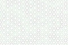 Abstract hexagon patroon als achtergrond voor ontwerp De geometrische textuur, herhaalt & mozaïek royalty-vrije illustratie