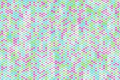 Abstract hexagon patroon als achtergrond voor ontwerp Digitaal, malplaatje, geometrisch & concept Stock Foto's