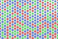 Abstract hexagon patroon als achtergrond voor ontwerp Geometrisch, concept, effect & Web stock illustratie