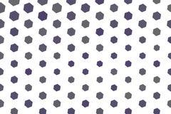 Abstract hexagon patroon als achtergrond voor ontwerp Achtergrond, mozaïek, behang & tegel stock illustratie