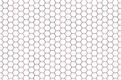 Abstract hexagon patroon als achtergrond voor ontwerp Vorm, grafisch, digitaal, creatief & tegel stock illustratie