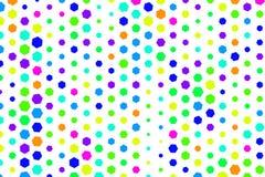 Abstract hexagon patroon als achtergrond voor ontwerp Vorm, illustratie, stijl, kunst & malplaatje stock illustratie