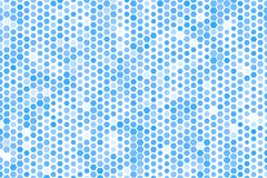 Abstract hexagon patroon als achtergrond voor ontwerp Vorm, malplaatje, decoratie, wit & canvas Royalty-vrije Stock Foto