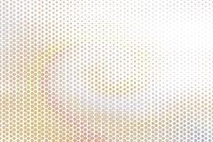 Abstract hexagon patroon als achtergrond voor ontwerp Vorm, malplaatje, slordig & geometrisch stock illustratie