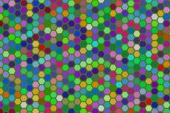 Abstract hexagon patroon als achtergrond voor ontwerp Vorm, tekening, behang, oppervlakte & digitaal royalty-vrije illustratie