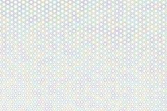Abstract hexagon patroon als achtergrond voor ontwerp Vorm, Web, slordig, effect & creatief Stock Foto's