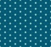Abstract hexagon patroonontwerp Stock Foto