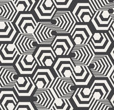 Abstract Hexagon Pattern Royalty Free Stock Photography