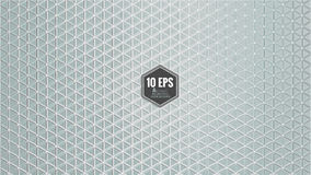 Abstract hexagon pattern background in gray color Royalty Free Stock Photo