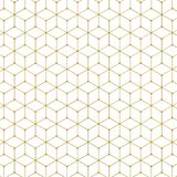 Abstract hexagon pattern. 3d illustration isolated on white background Stock Photo