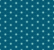 Abstract hexagon pattern design Stock Photo