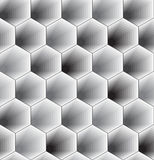Abstract Hexagon Pattern Royalty Free Stock Image