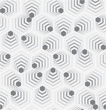 Abstract Hexagon Pattern Stock Image