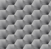 Abstract Hexagon Pattern Stock Images