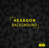 Abstract hexagon vector background. Minimalistic Hexagon Seamless Pattern. Modern design vector illustration 10 EPS Stock Photos