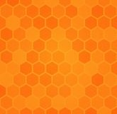 Abstract hexagonal honeycomb background Royalty Free Stock Photos