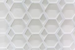Abstract hexagonal pattern. For background vector illustration