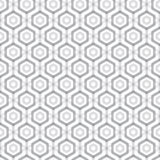 Abstract hexagonal seamless pattern Stock Photo