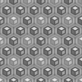 Abstract hexagonal seamless pattern Stock Photography