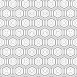 Abstract hexagonal seamless pattern Royalty Free Stock Photo