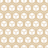 Abstract hexagonal seamless pattern. Vector illustration for Your design, eps10 Royalty Free Stock Photography