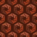 Abstract hexagonal seamless pattern Royalty Free Stock Photo