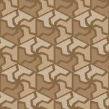 Abstract hexagonal seamless pattern Stock Photo