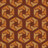 Abstract hexagonal seamless pattern Royalty Free Stock Photography