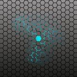 Abstract Hexagonal tile Royalty Free Stock Image