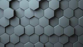 Abstract Hexagons Background Stock Image