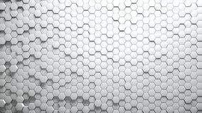 Abstract Hexagons Background Royalty Free Stock Photos
