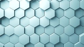 Abstract Hexagons Background Random Motion, stock footage