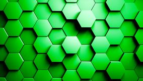 Abstract Hexagons Background Random Motion 4K stock video footage