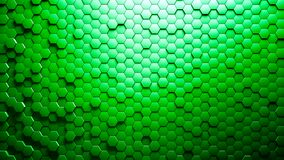 Abstract Hexagons Background Random Motion 4K stock footage
