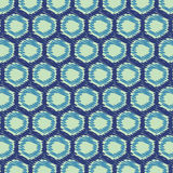 Abstract hexagons background Royalty Free Stock Images