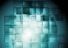 Abstract hi-tech background Stock Image