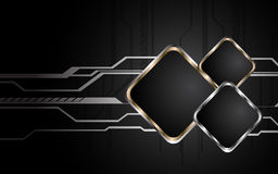 Abstract hi-tech background. Clip-art Stock Photography