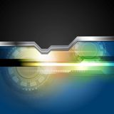 Abstract hi-tech background Royalty Free Stock Photo