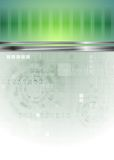 Abstract hi-tech background Stock Images