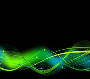 Abstract hi tech black background Royalty Free Stock Images