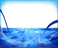 Abstract hi-tech concept - lined. Clip-art Royalty Free Stock Images