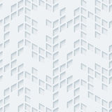 Abstract hi-tech geometric seamless pattern. Royalty Free Stock Image