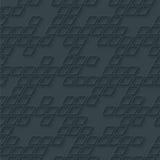 Abstract hi-tech geometrisch naadloos patroon Royalty-vrije Stock Afbeelding
