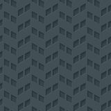 Abstract hi-tech geometrisch naadloos patroon Royalty-vrije Stock Afbeeldingen