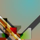 Abstract hi-tech geometry background Stock Image